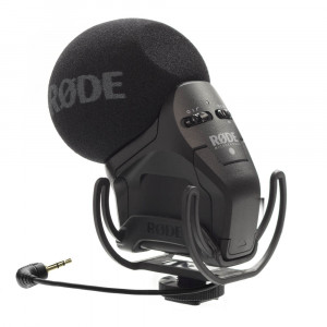 RODE StereoVideoMic Pro on-camera microphone