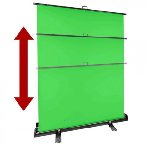 StudioKing FB-150200FG Roll-Up green screen