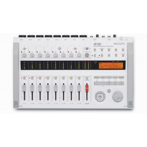 ZOOM R16 recorder - audio interface - controller