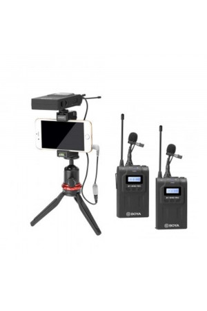 BOYA BY-WM8 Pro-K2 Dual-Channel Wireless Microphone System