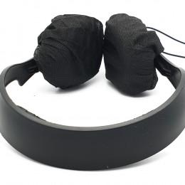 Elastic disposable headphone cover LARGE (2pcs)