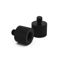 Threaded adapter 3/8 inch to 1/4 inch