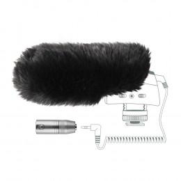 Sennheiser MZW400 deadcat + adapter