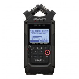 ZOOM H4n Pro black recorder handheld