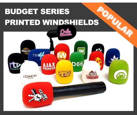 Printed Budget Foam Windshields